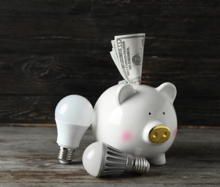 Rebate, piggy bank