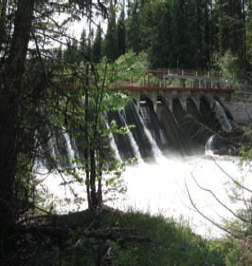 Photo of Lake Creek Dam