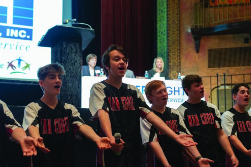 The Sandpoint High choir